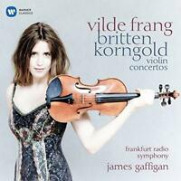 Vilde Frang - Korngold And Britten: Violin Concertos (NEW CD)