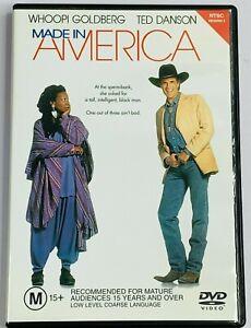 Made In America (DVD 1993) Whoopi Goldberg Ted Danson Free Postage Region 4 PAL