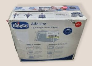 Chicco Alfa Lite Lightweight Travel Playard; Midnight