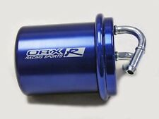 Anodized Blue Inline Gasoline Fuel Filter For 94-06 Subaru / Saab / VW by OBX