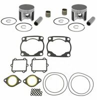 1999 Arctic Cat ZL 600 Top End Rebuild Kit Pistons Gaskets Bearings Std 78mm