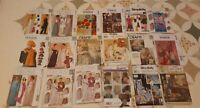 LOT 18 Vintage Women's Sewing Patterns McCalls Simplicity Craft Gowns UNCUT