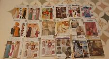 New ListingLot 18 Vintage Women's Sewing Patterns McCalls Simplicity Craft Gowns Uncut