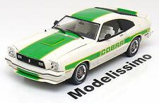 1:18 Greenlight Ford Mustang 2 Cobra 2 1978 white/green