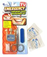Instant Smile Emergency Temporary Tooth Replacement Kit, w/ 2 Fitting Bead Packs