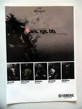 PUBLICITE-ADVERTISING :  Guitares YAMAHA  12/2004 Pleymo,Watcha