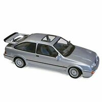 FORD SIERRA RS COSWORTH GREY 3 DR DIECAST MODEL RARE CLASSIC 1:18 SCALE BOXED