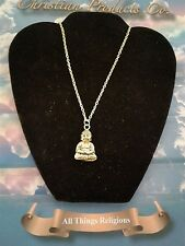 Antique Gold Religious Buddha  Necklaced Pendant