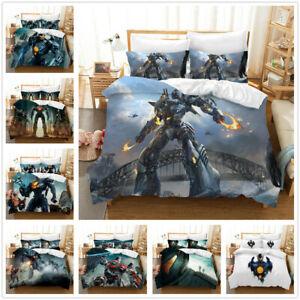 Pacific Rim 3D Bedding Set Duvet Cover Pillowcase Single/King Size AU2F