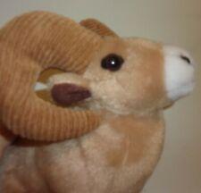 "Wild Republic Ram Big Horn Sheep Plush 8 "" Ram Horns Goat TOY  FREE SHIPPING"