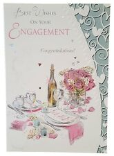 451 Single engagement card - Best Wishes on your Engagement