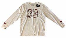 #23 Jordan Nike Jumpman Long Sleeve Graphic Tee T-Shirt White Mens 2XL NWT