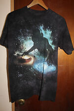 The Mountain Galaxy DJ Electronica Music Men's Black T Shirt Size Medium