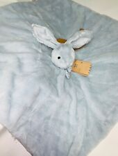 "Mon Lapin Blue Bunny Super Soft 30""x 30"" Security Blanket"
