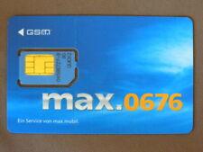GSM / Chip Card MINT Ongebruikt Oostenrijk - MAX