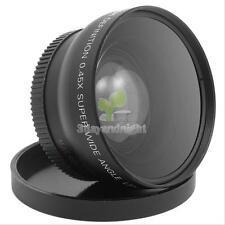 Super Wide Angle 52mm Fisheye w/ Macro For Nikon D3000 D3100 D5000 D5100 D3200