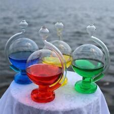 Glass Weather Forecast Predictor Bottle Barometer Home Decor Crafts dg#14