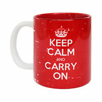 Officially Licensed Keep Calm And Carry On British Brit GB MUG birthday funny