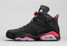 2014 Nike Air Jordan 6 VI Retro Black Infrared Size 11.5. 384664-023 1 2 3 4 5
