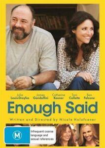 Enough Said (DVD) - Julia Louis-Dreyfus, James Gandolfini