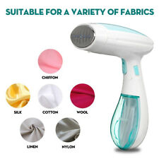 1500W Fabric Steamer Handheld Portable Clothes Steam Iron Heat Laundry Travel Us