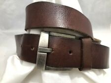 Utility Gear Leather Belt Standard Issue Patch Brown 40 (P)