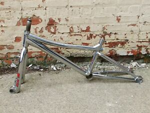 Old School 1999 GT Tour BMX  Bicycle Frame and Fork, With Pacman Dropouts