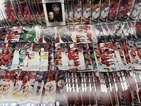 Carolina Hurricanes 130 Card Base Lot Upper Deck OPC Platinum Aho Staal Ward