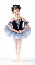Child XL Crystal Ballerina Tutu Dance Costume Ballet Blue Heaven