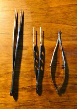 3 -  Symmetry Surgical SSI Ultra Optometry Instruments Forceps Corneal Scissors