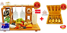 Lux Lane All-in-one Top Cutting Bamboo Cheese Board