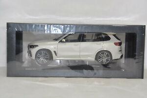 BMW X5 G05 SUV WHITE METALLIC 1:18 NOREV DEALER VERY RARE