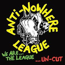 Anti-Nowhere League - We Are The League… Uncut (NEW CD)