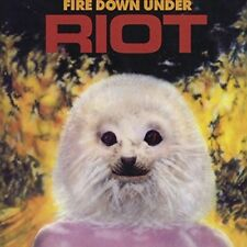 RIOT - FIRE DOWN UNDER REISSUE   CD NEUF