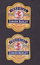 Ancienne étiquette Minéral Water  BN16703 Eau minérale Barley