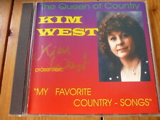 KIM WEST präsentiert : My favorite Country-Songs (mit Autogramm!) RAR!