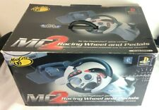 MadCatz MC2 Racing Wheel and Pedals For Playstation With Box
