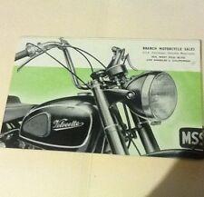 VINTAGE 1950s MAC AND MSS VELOCETTE MOTORCYCLE SALES BROCHURE