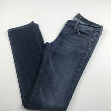 7 for All Mankind Womens Straight Denim Jeans Size 30 Inseam 33