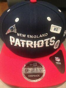 9fifty adjustable snapback new era new england patriots team headwear brand new