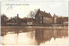 """(0706) 1910 P/C DENMARK RIVER SCENE """"SKIVE"""""""