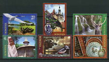 Romania 2017 MNH Welcome Tourism Landscapes Architecture 6v Set Birds Stamps