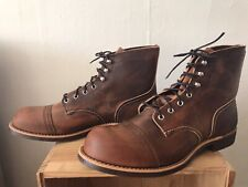 Red Wing Iron Ranger 8085 Copper US Men's Sz. 12 Brand New In Box!
