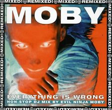 Moby - Everything Is Wrong: Non-Stop DJ Mix [New CD] UK - Import
