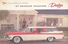 1957 Dodge Station Wagon Sales Brochure mw4901-GCCT4L