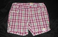 Arizona Girls Plaid Shorts Size-16 Regular  NWT
