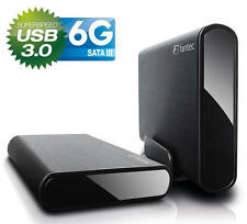 "Fantec db-alu3-6g - 3,5"" Disque Dur Boîtier usb 3.0 superspeed-Black"