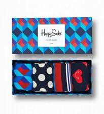 Happy Socks - Nautical Gift Box, Geschenkbox - blau wie das Meer - 36-40 + 41-46