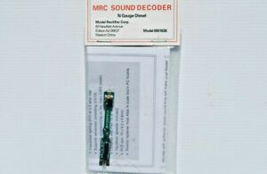 MRC 0001636 N Scale Sound Decoder with Speaker - for Atlas Locos with Std Board.