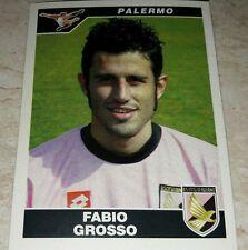 FIGURINA CALCIATORI PANINI 2004/05 PALERMO GROSSO ALBUM 2005